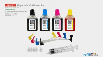 Brother LC67, LC11 (JP) Magictube Refill Inks Set