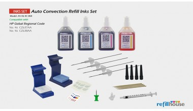 HP 46 Auto Convection Refill Inks Set
