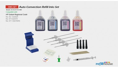 HP 56, 57 Auto Convection Refill Inks Set