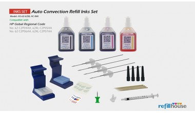 HP 62, 62XL Auto Convection Refill Inks Set