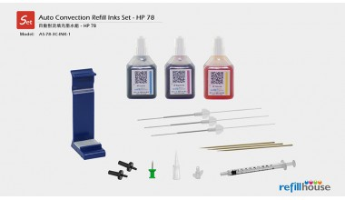 HP 78 Auto Convection Refill Inks Set