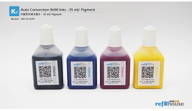 Auto Refill Ink - 35ml - Pigment Inks - 4 Color