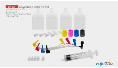 Brother LC217, LC215 (JP) Magictube Refill Kits Set