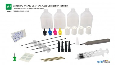 Canon PG-745XL, CL-746XL Auto Convection Refill Kits Set