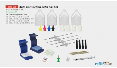 HP  60, 60XL Auto Convection Refill Kits Set