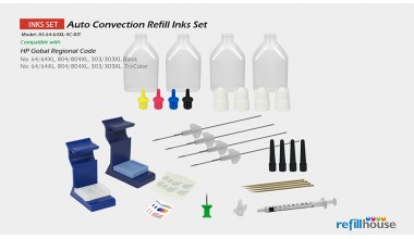 HP 64/64XL 804, 303 Auto Convection Refill kits Set