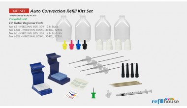 HP 65, 803, 304, 123 Auto Convection Refill kits Set
