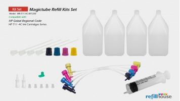 HP 711 4C/250 Magictube Refill Kits Set