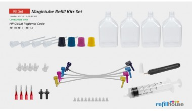HP 10, 11, 13, 4C/70 Magictube Refill Kits Set